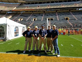 COMMs leaders at Neyland Stadium